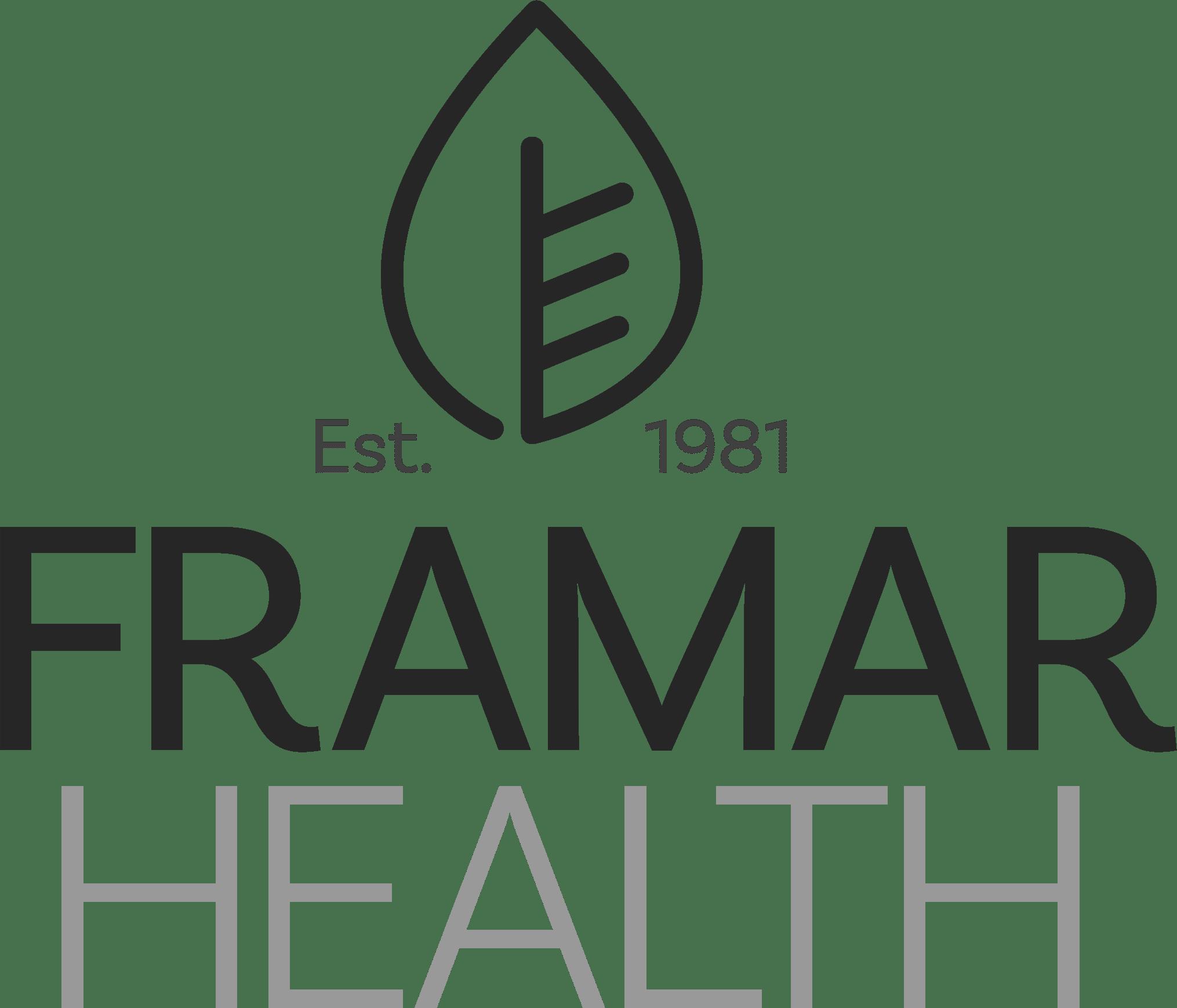 Brand Design for Framar Health By Tierna Byrne